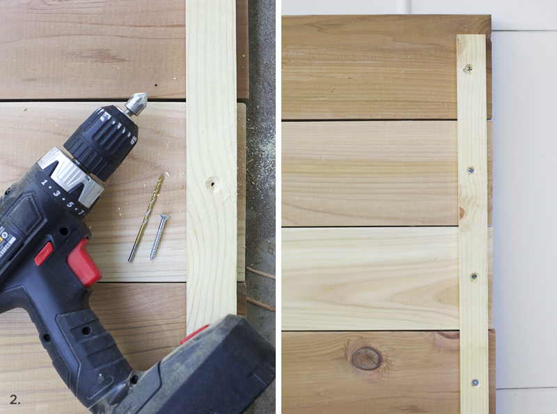 How to Make a Wooden Photo Backdrop