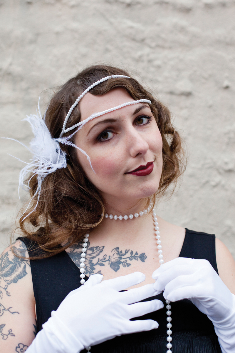 How to make a flapper headband