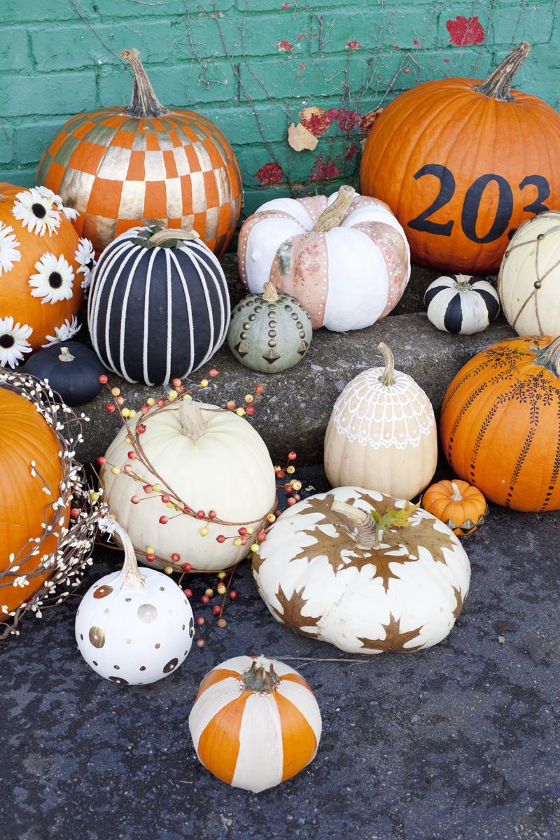 Easy no-carve pumpkin ideas