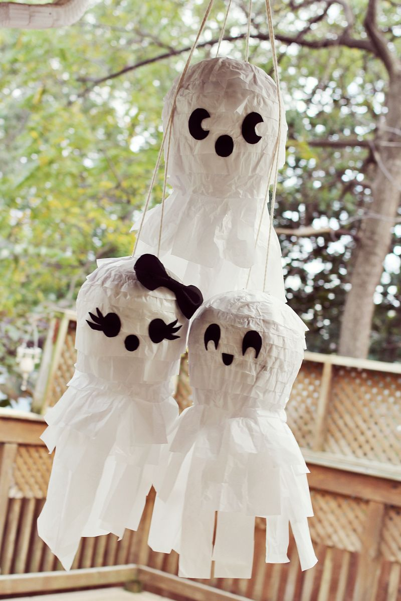 Ghost family piñata party