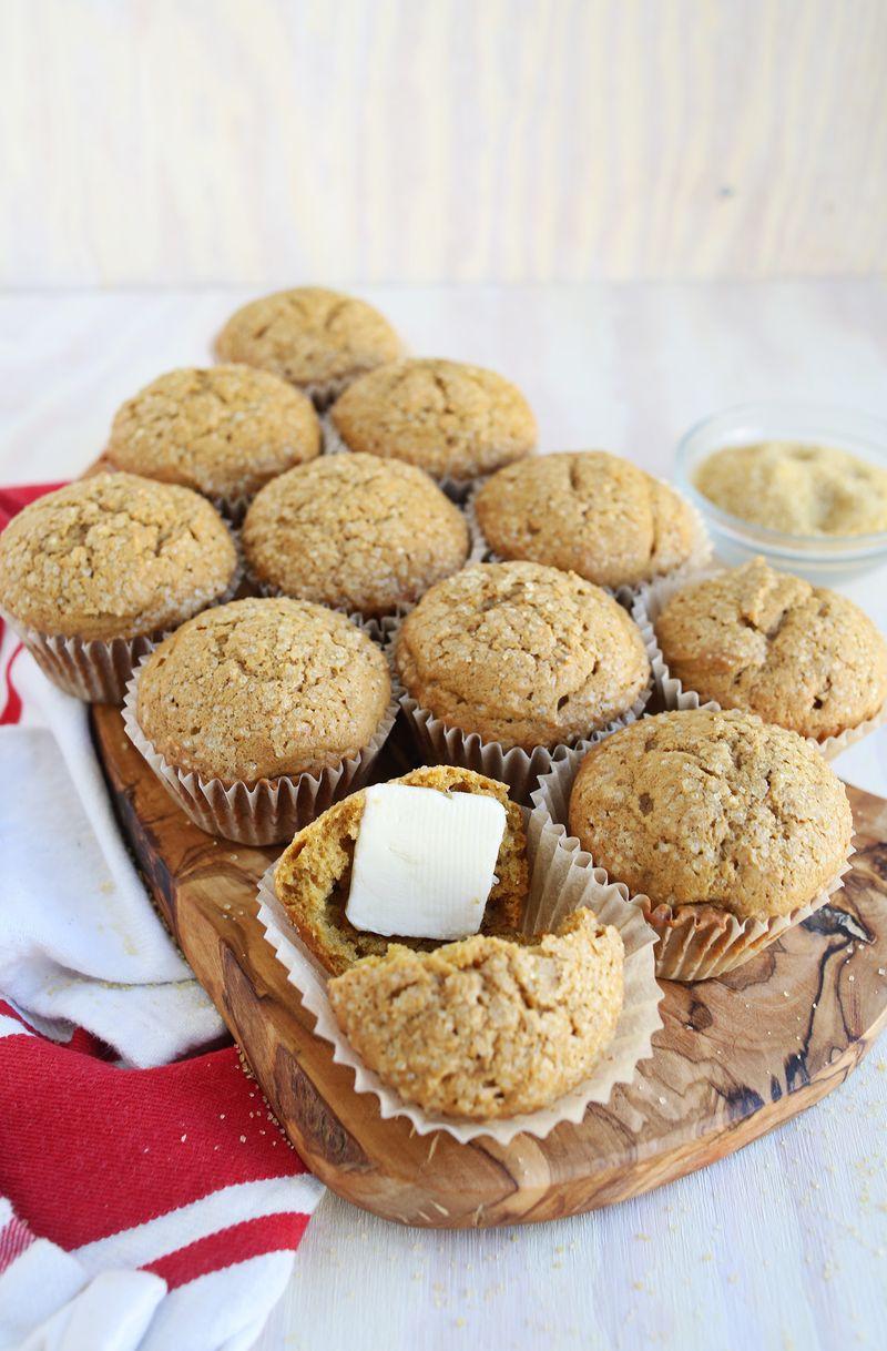 Pumpkin muffins via A Beautiful Mess