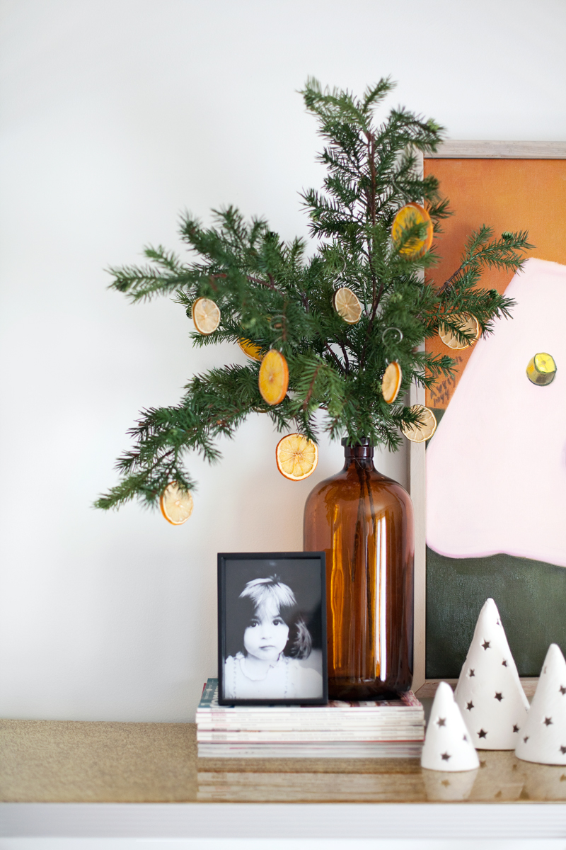 Citrus ornaments are so easy to make!