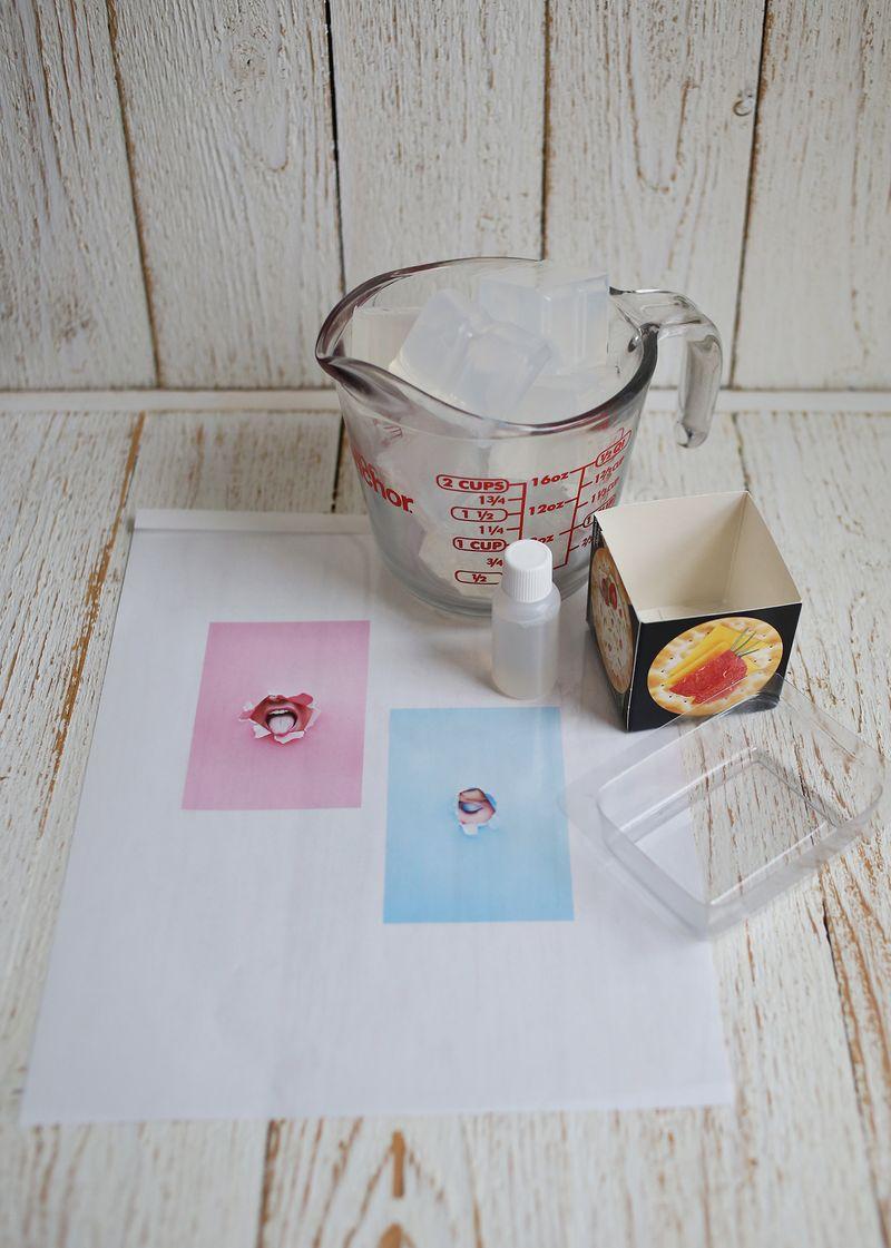 Supplies to make custom soap