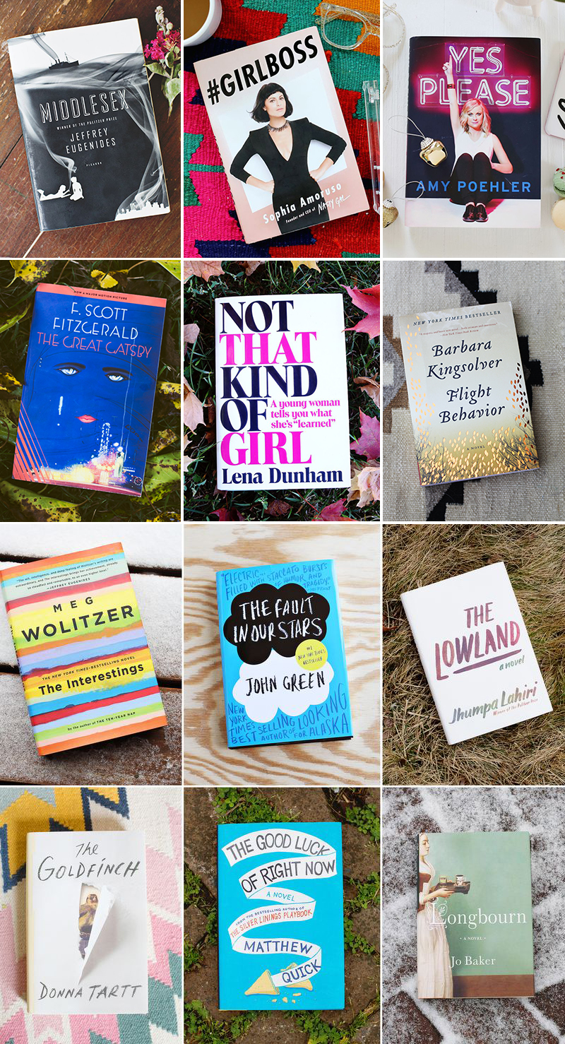 ABM book club year one selections!
