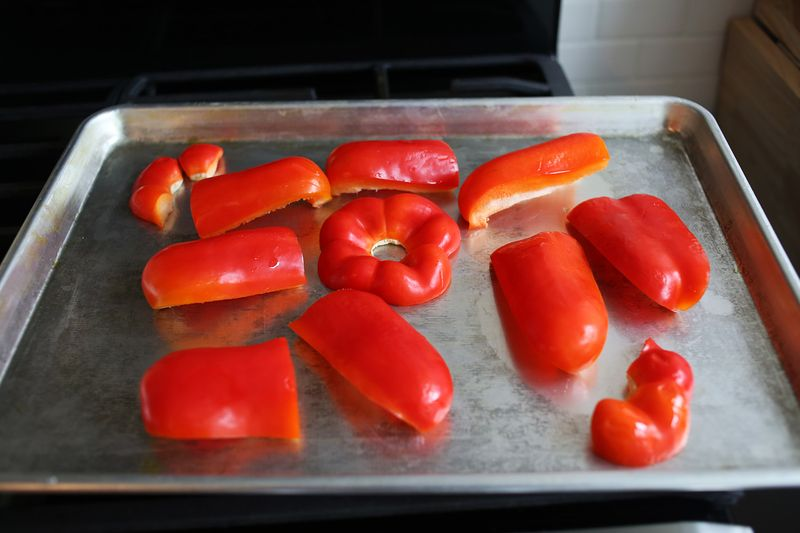 Roasted red pepper soup
