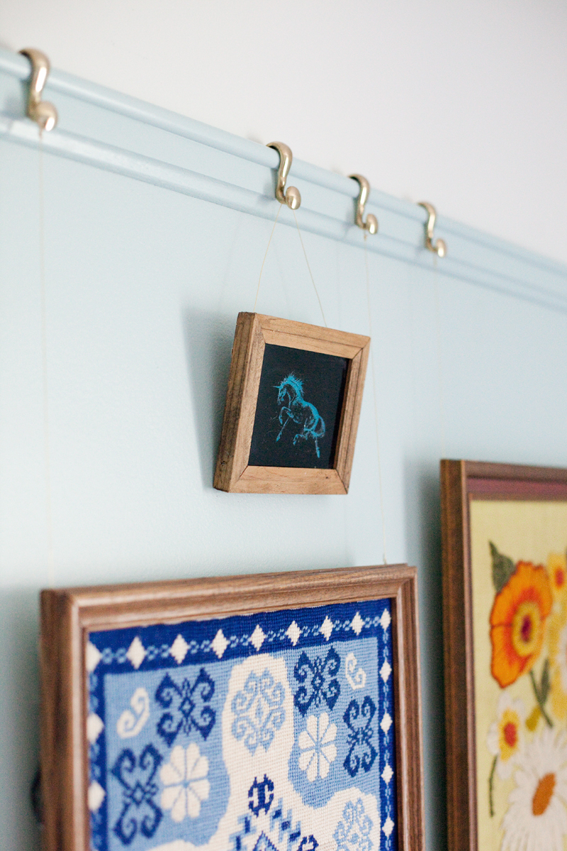 Installing Picture Rail Moulding - A Beautiful Mess