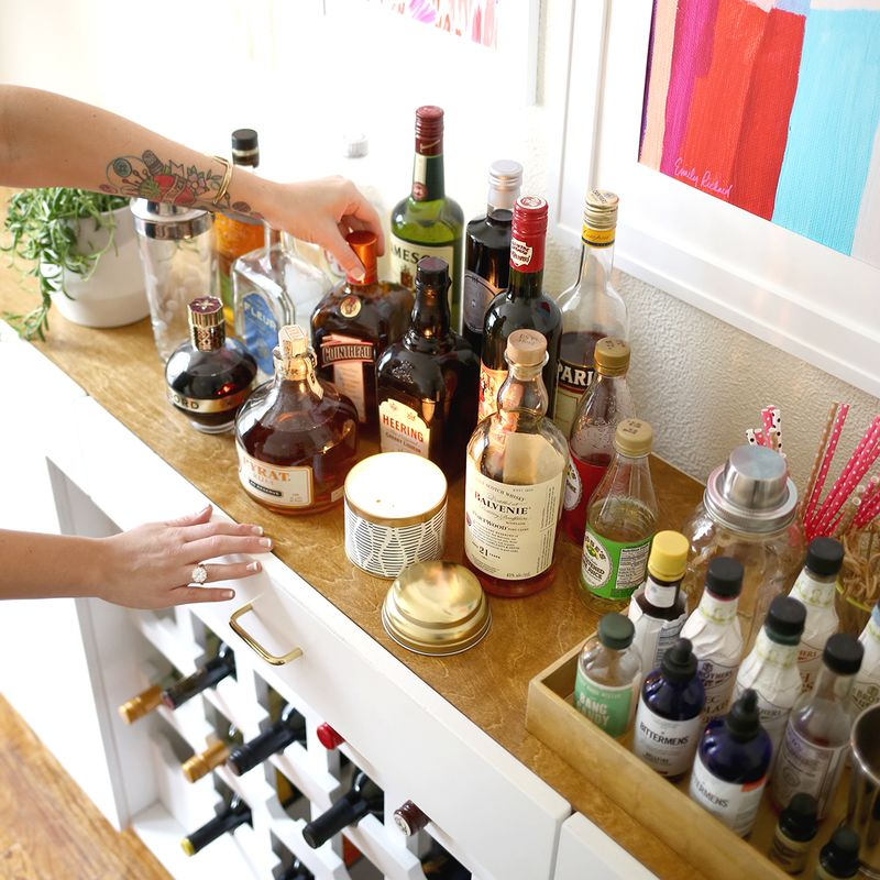 Drinks to keep on hand www.abeautifulmess.com