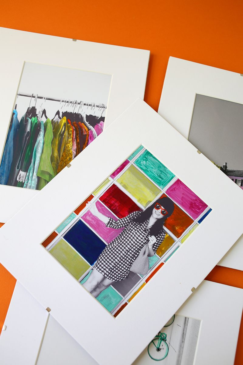 How to hand color photographs via www.ABeautifulMess.com