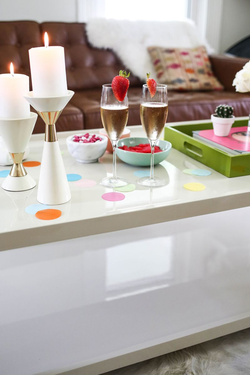 Styling A Coffee Table (3 Ways) via A Beautiful Mess