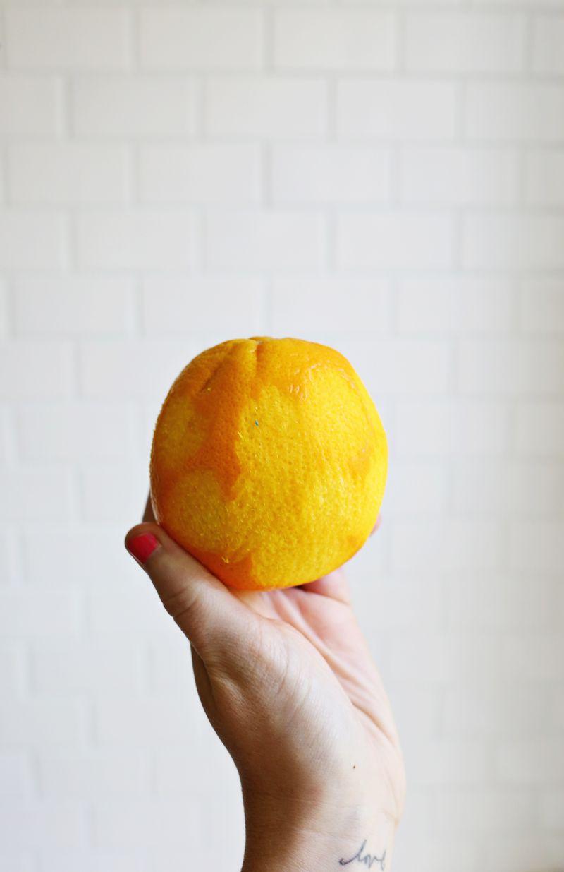 Naked orange!