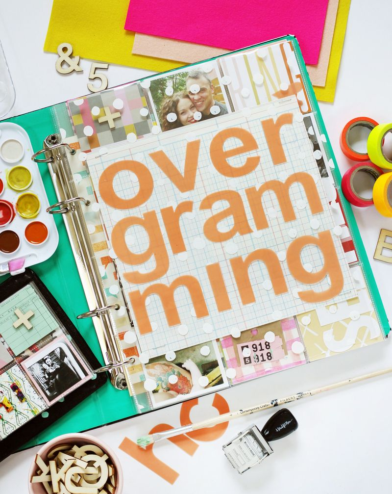 Overgramming course!