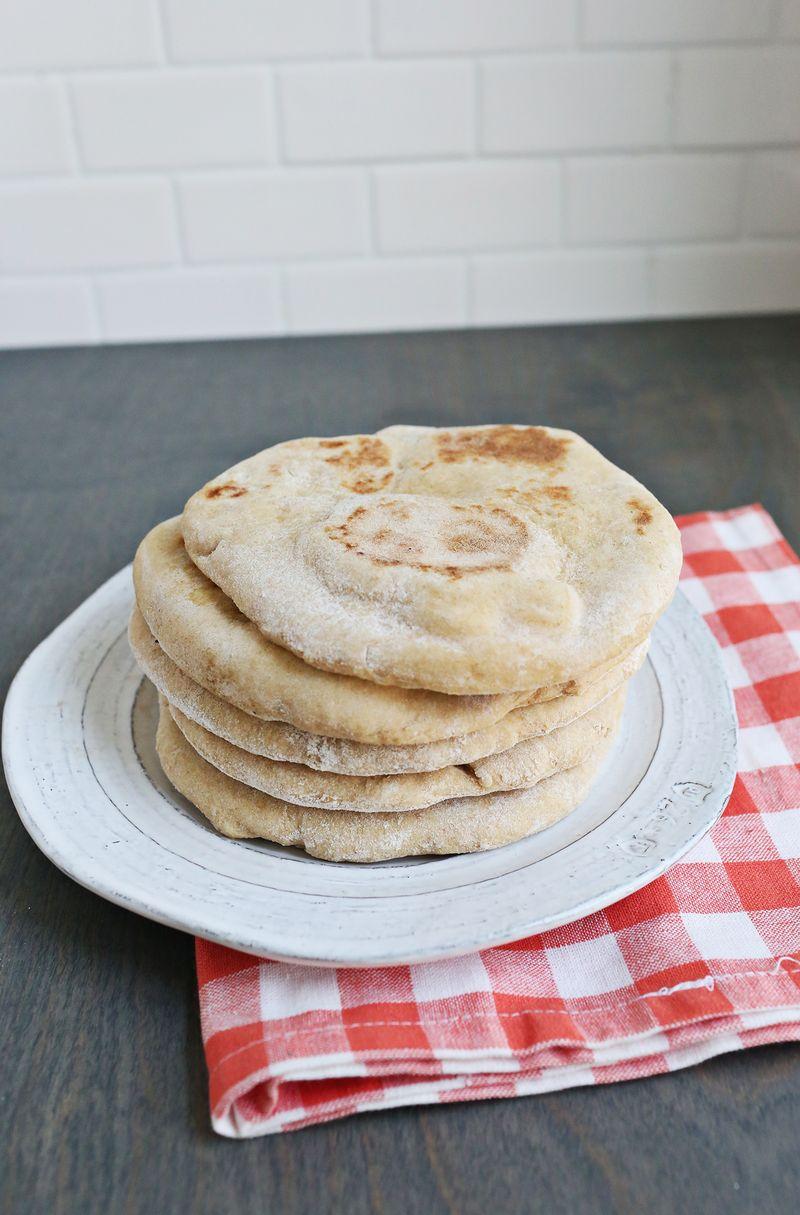 Homemade Whole Wheat Flatbread