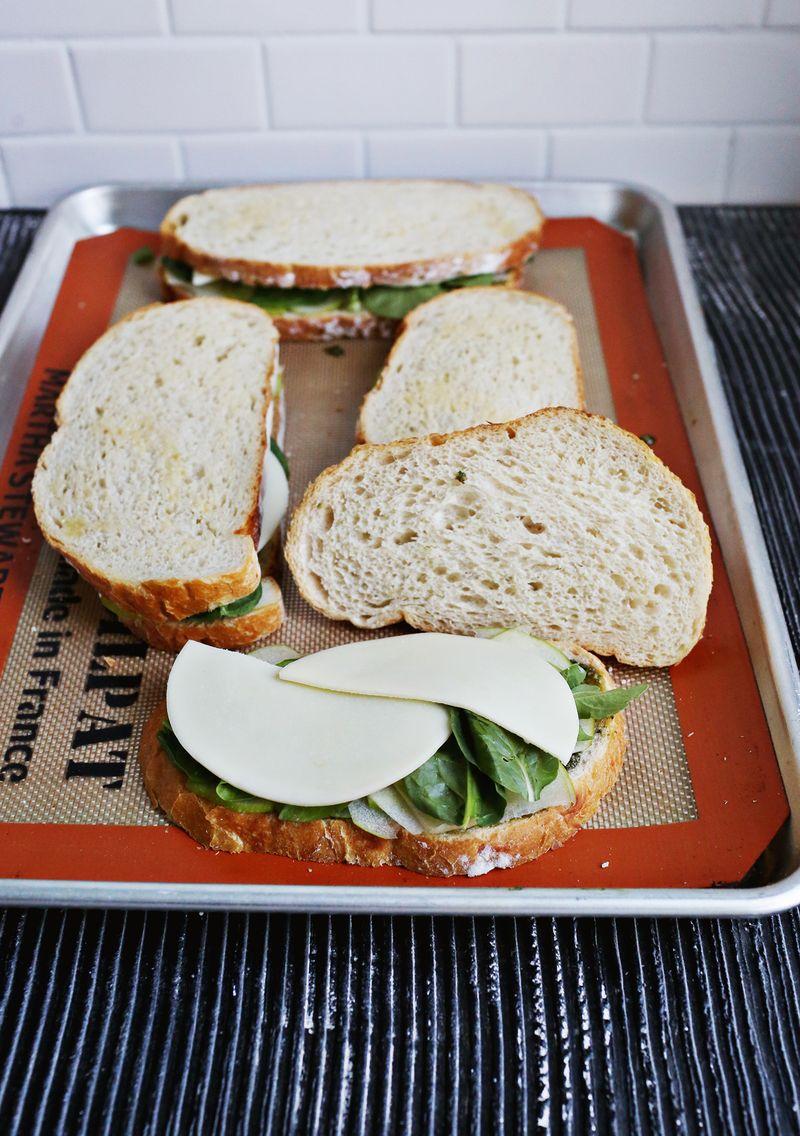 Best baked veggie sandwich