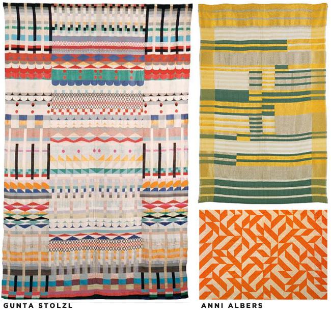 Bauhaus-textiles