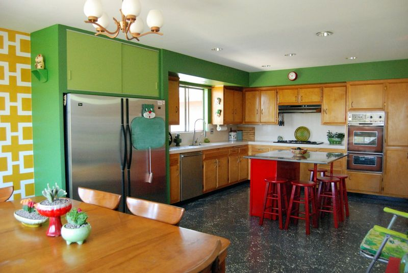 Love this kitchen! At Home with Kimi Encarnacion