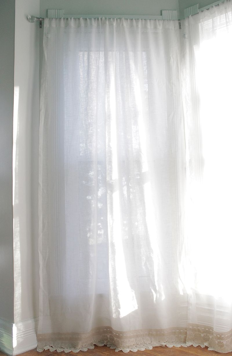 Lengthen your curtains without sewing!