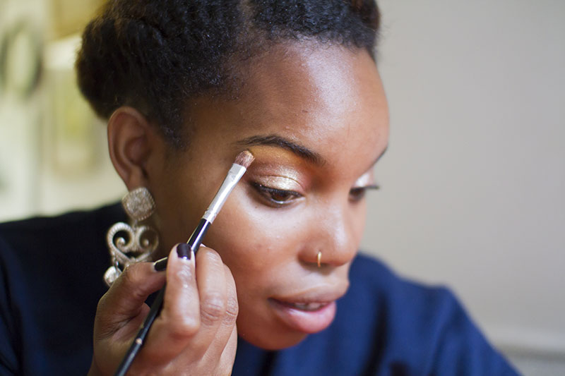 Get A Polished Look For New Years Eve (In Just 5 Minutes!) Click through for tutorial