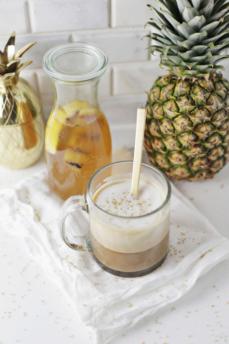 Grilled Pineapple Latte (via abeautifulmess.com)