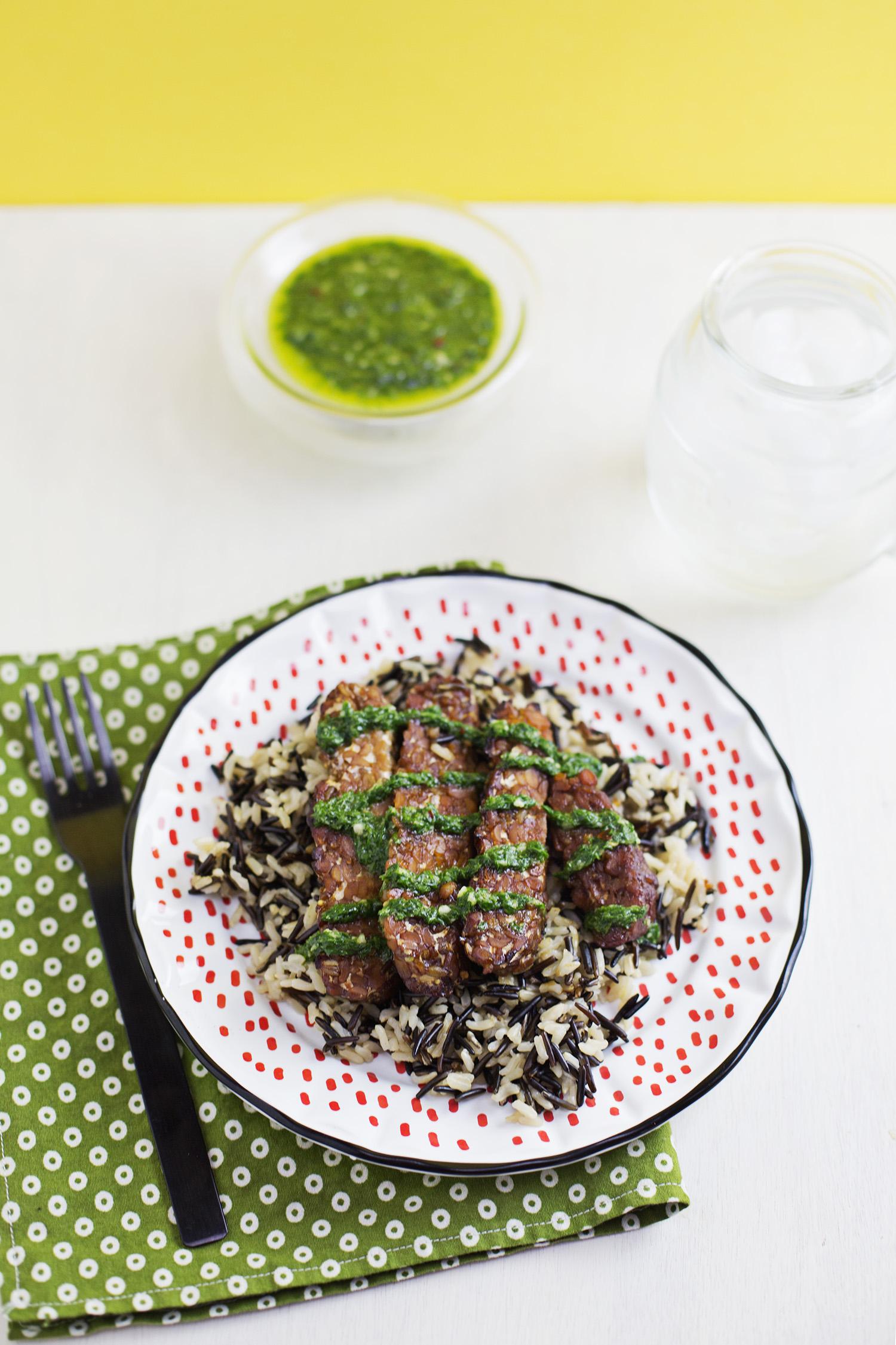 Tempeh Steaks (via abeautifulmess.com)
