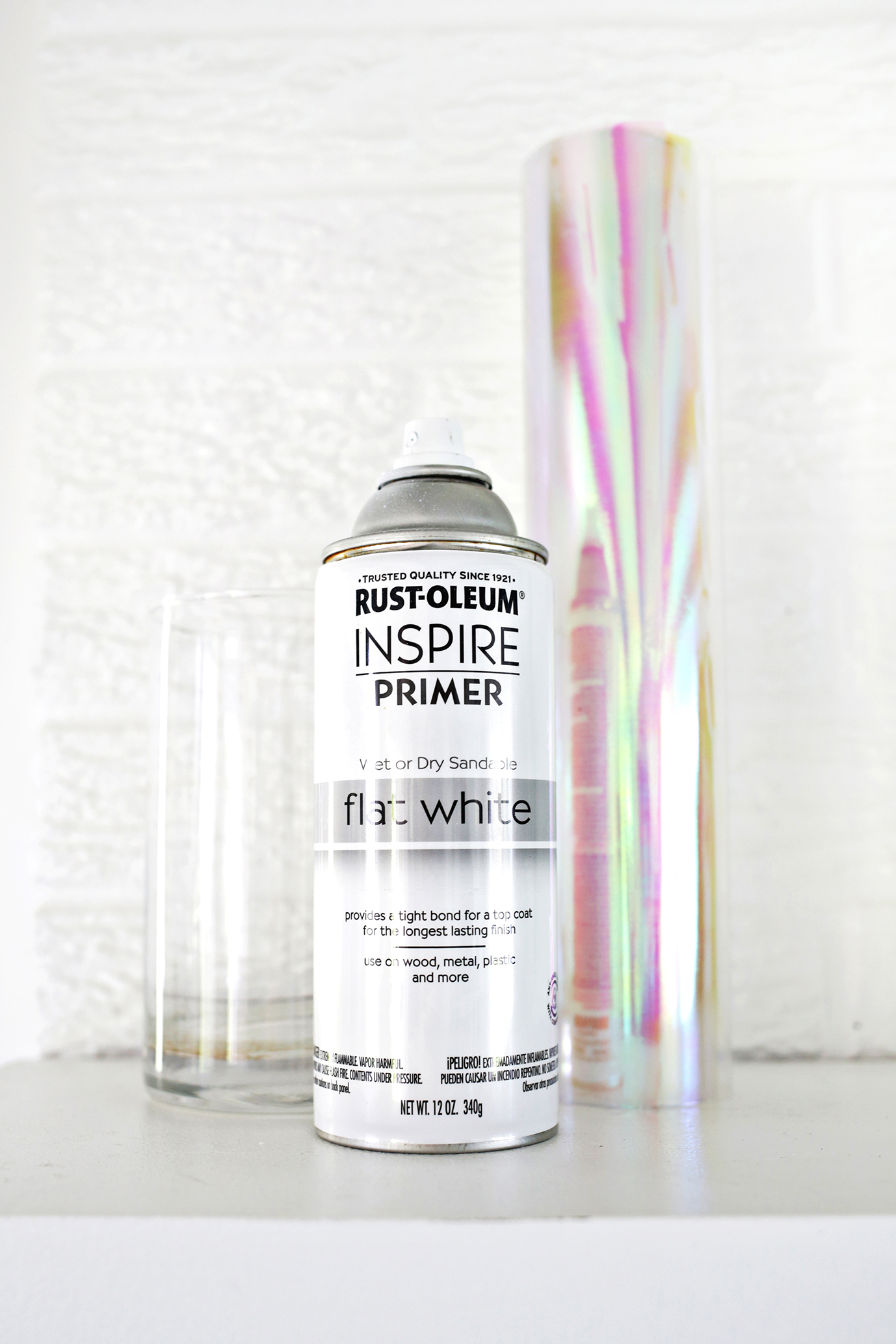 Holographic Vase DIY (click through for tutorial)