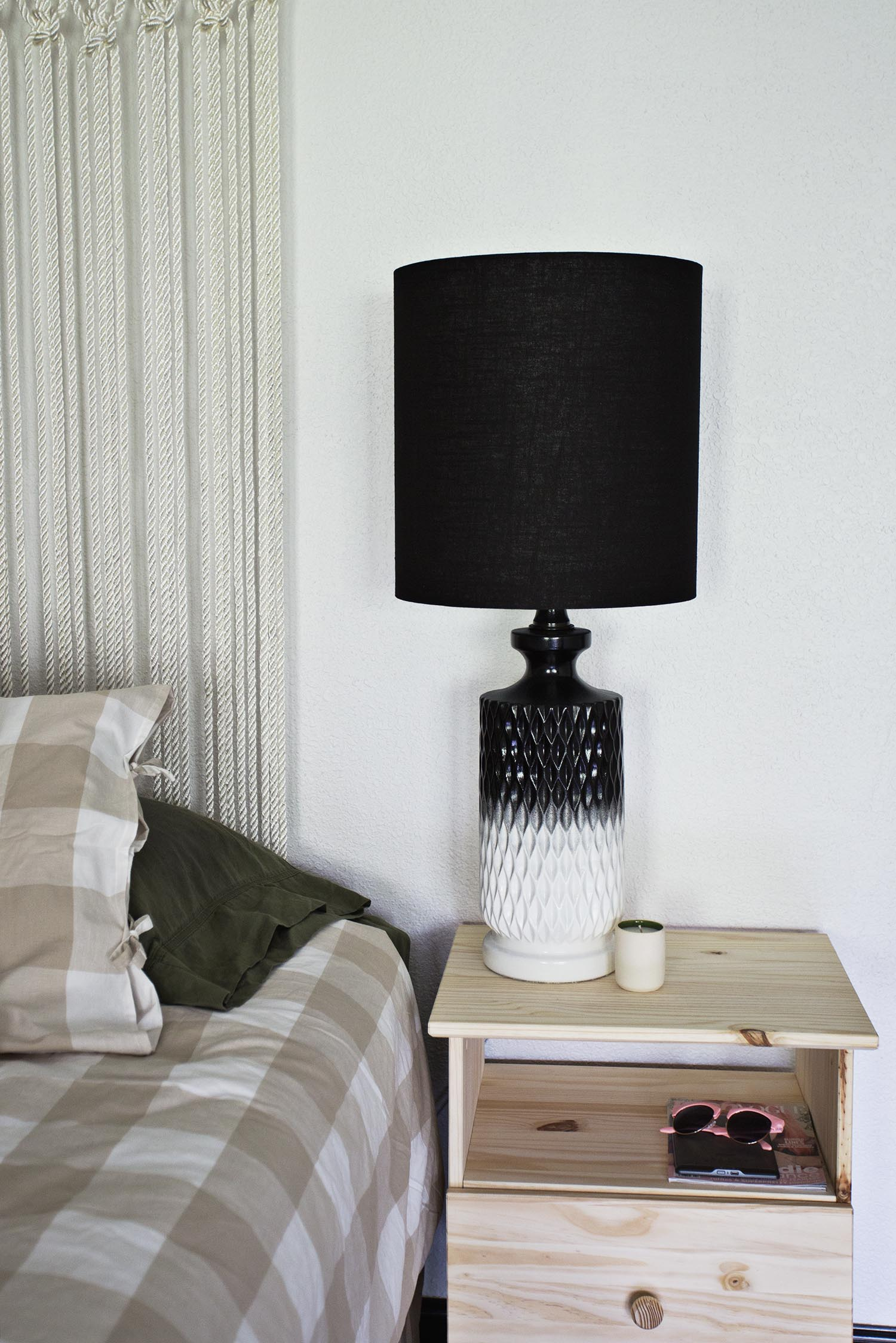 Project restyle bedside lamp