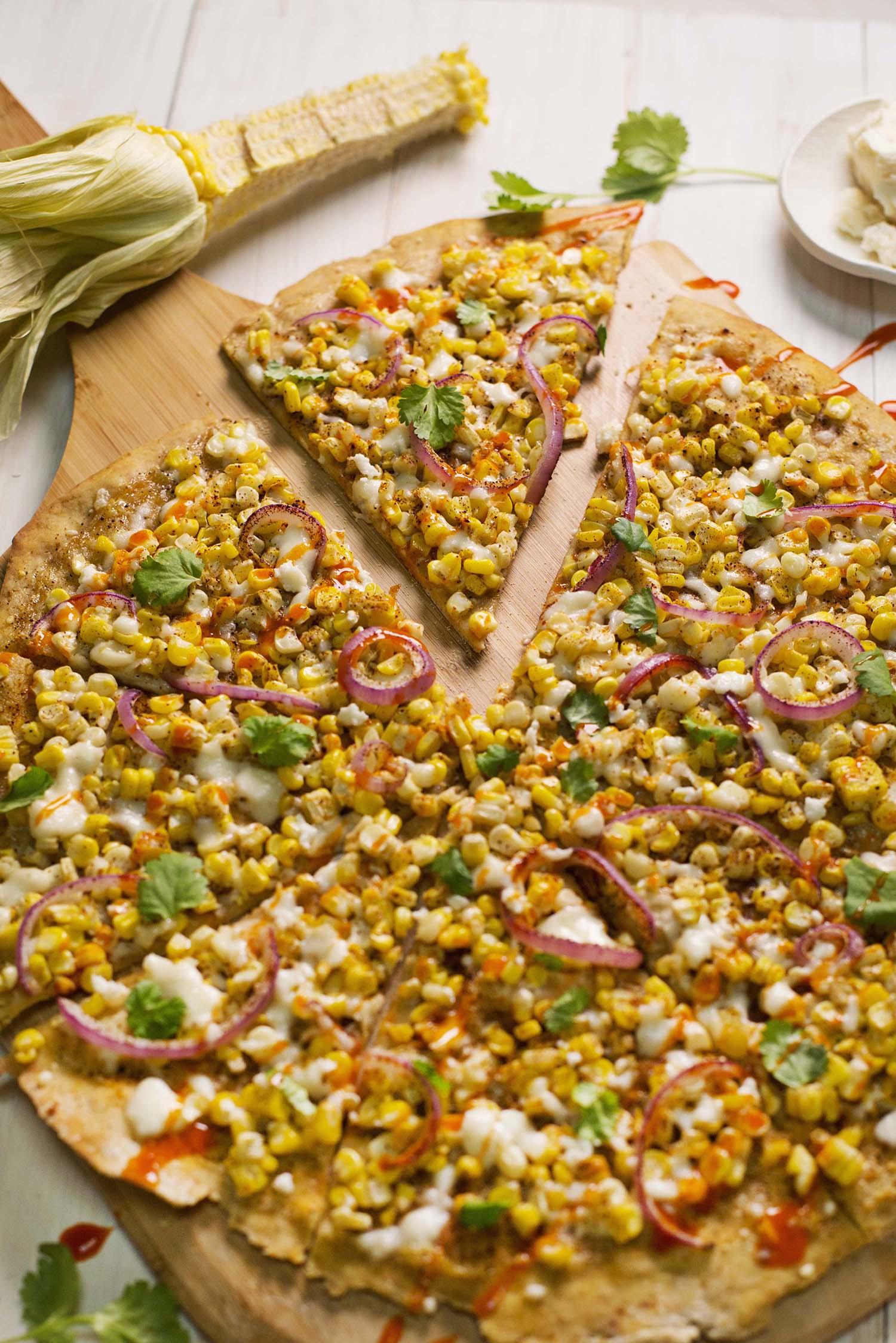 Elotes pizza (via abeautifulmess.com)