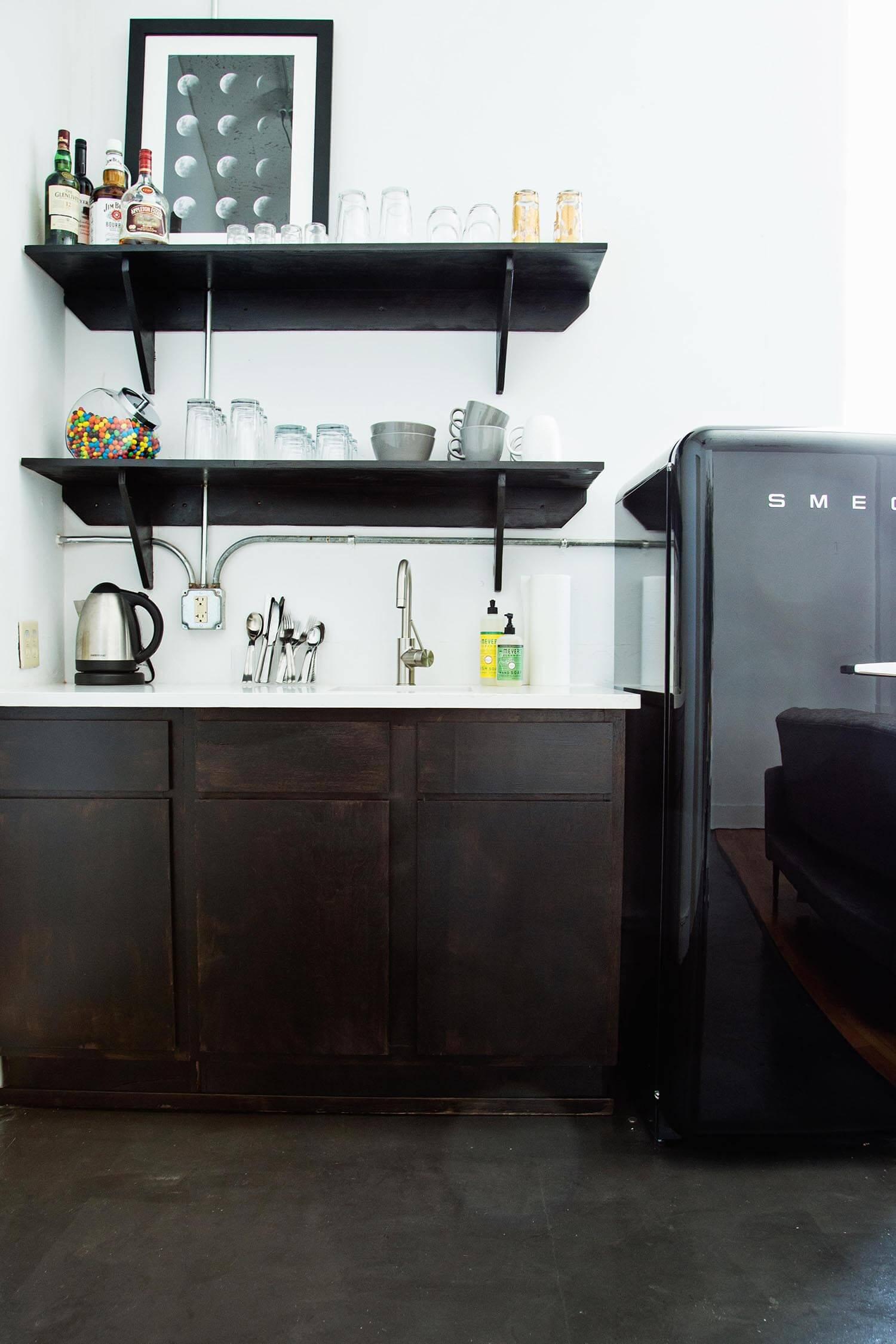 ABM breakroom area