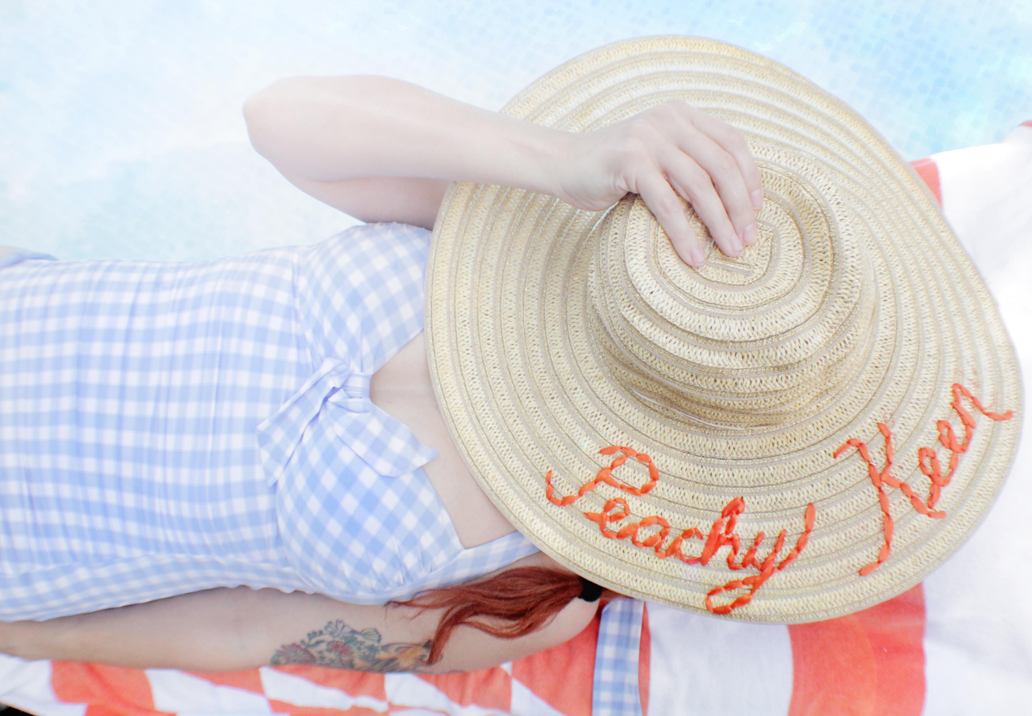 Darling hat DIY for summer!