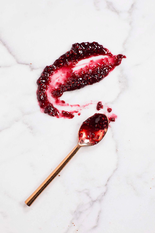 Red wine and raspberry jam (via abeautifulmess.com)