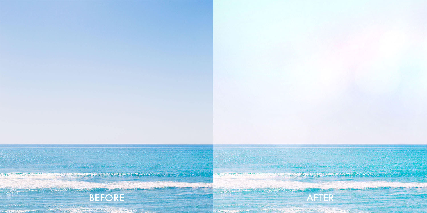 A Color Story Before-After