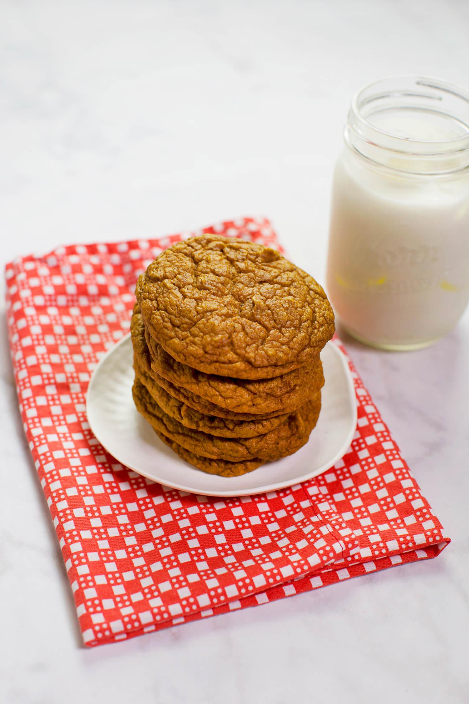 (Getreidefreie) Kürbis Mixer Cookies