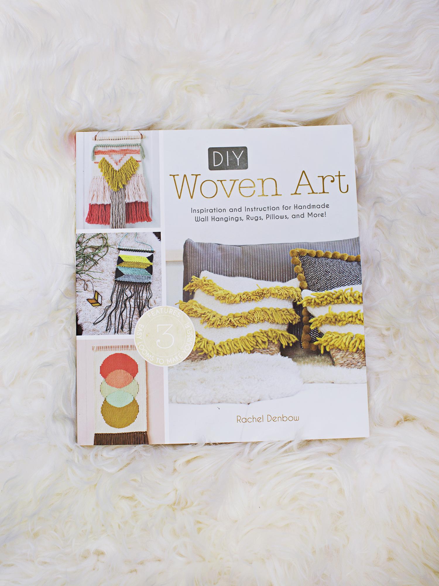 DIY Woven Art by Rachel Denbow