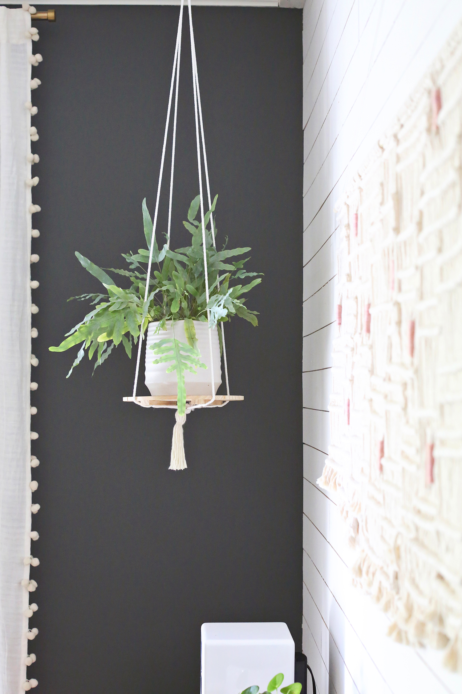 Hanging Plant Shelf Diy A Beautiful Mess