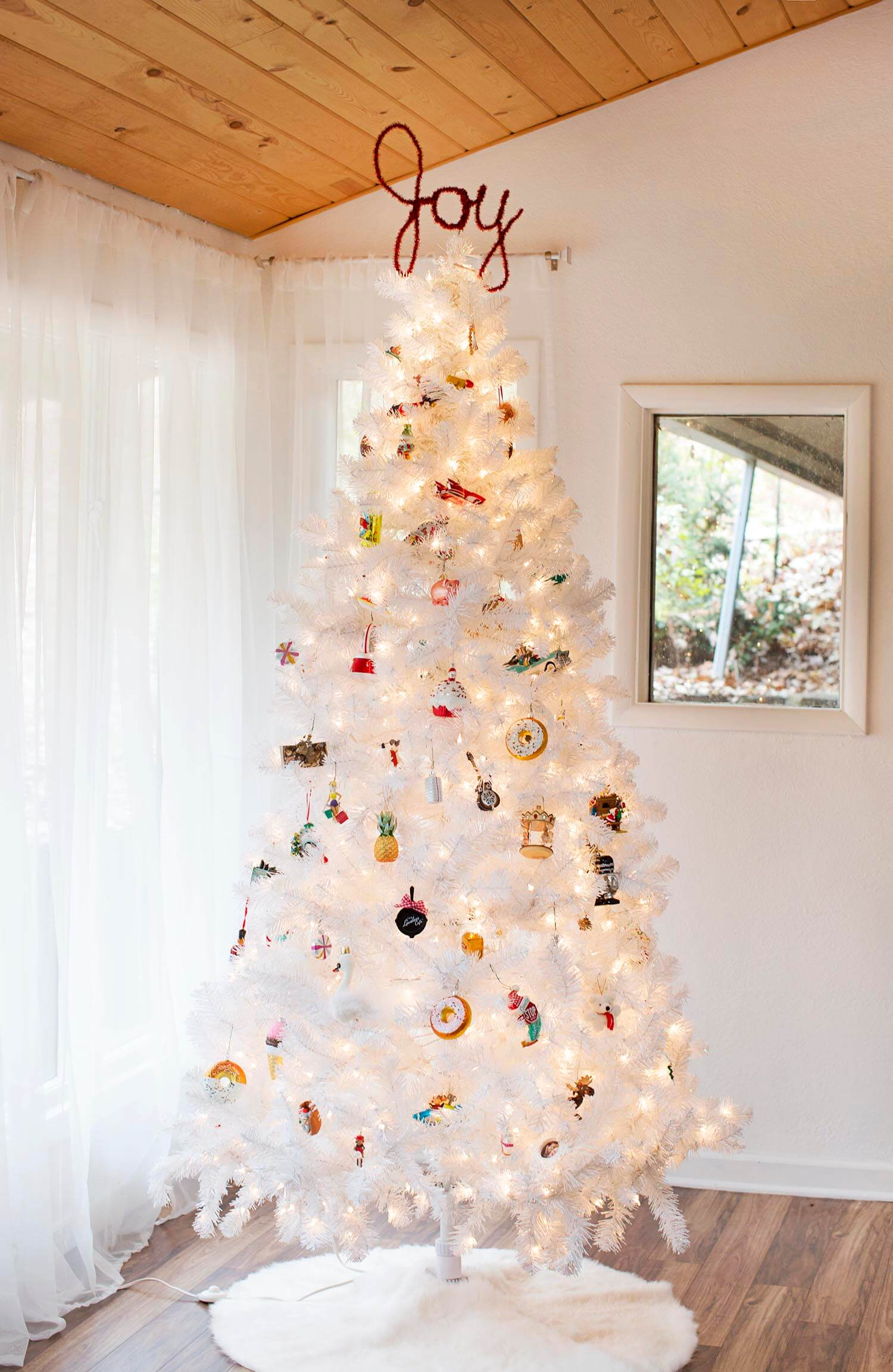 easy diy tree topper tutorial