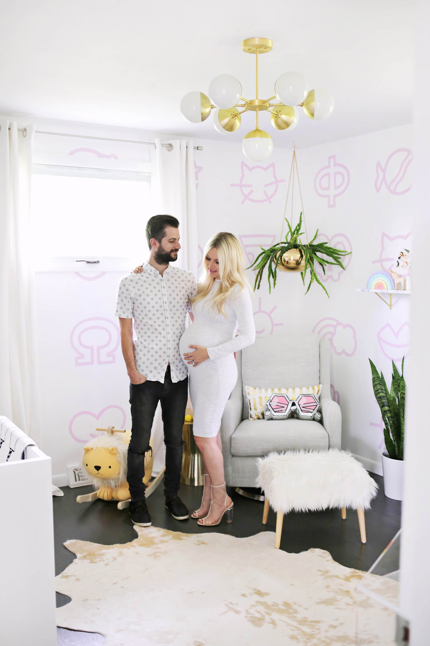 Laura's Nursery Tour! (click through for more photos and links!)