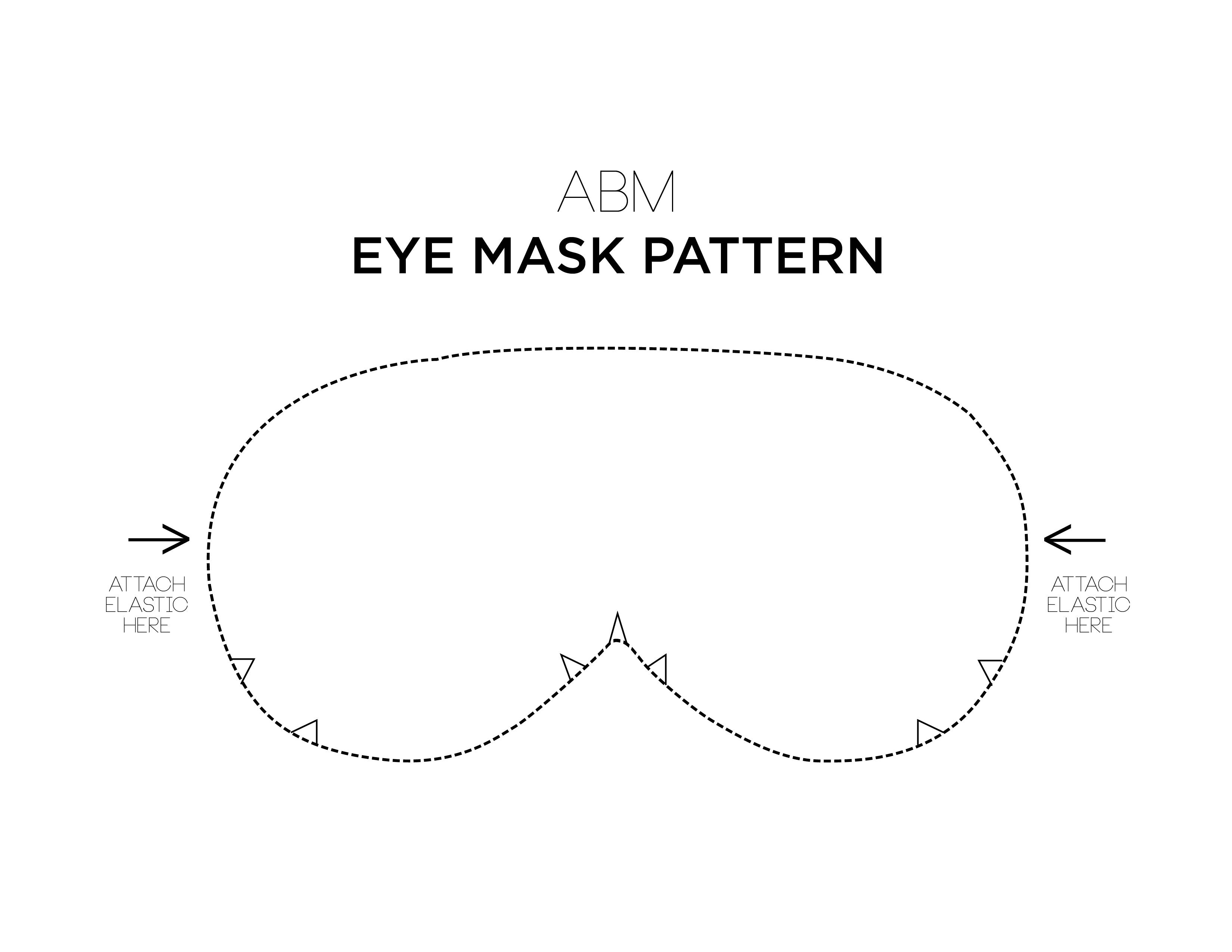 Make Your Own Eye Mask! - A Beautiful Mess